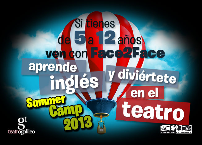 face 2 face summer camp 2013