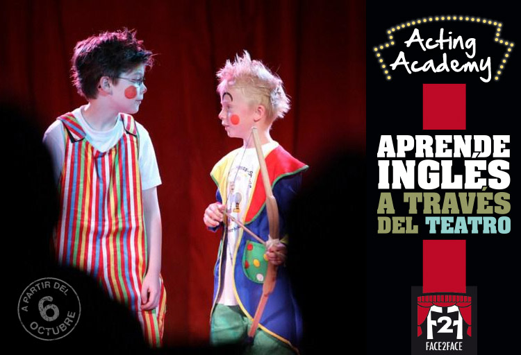 acting academy teatro en ingles clases extraescolares