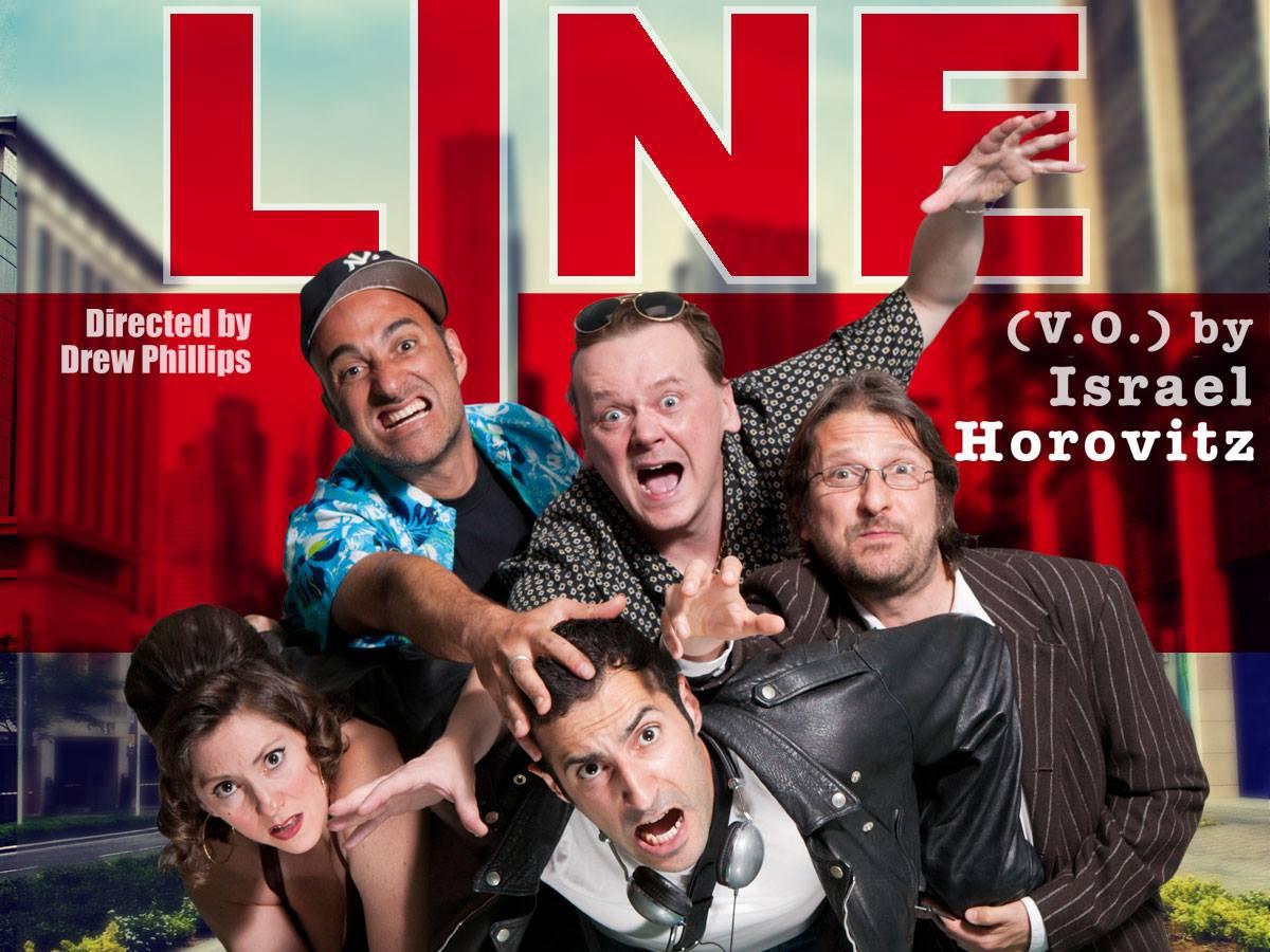 Cartel horizontal LINE Face 2 Face theatre productions