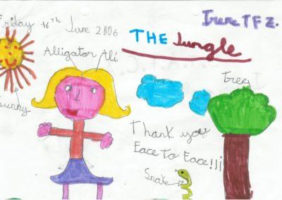 Dibujos ninos para teatro face2face