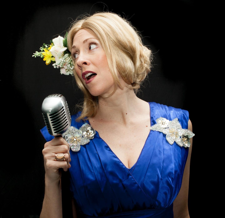 Anita Goodman sings