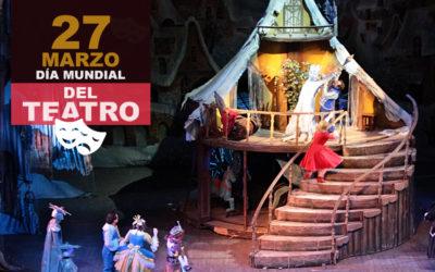'Día Mundial del Teatro 2019'El teatro es un país en sí mismo, un mundo que no entiende de idiomas