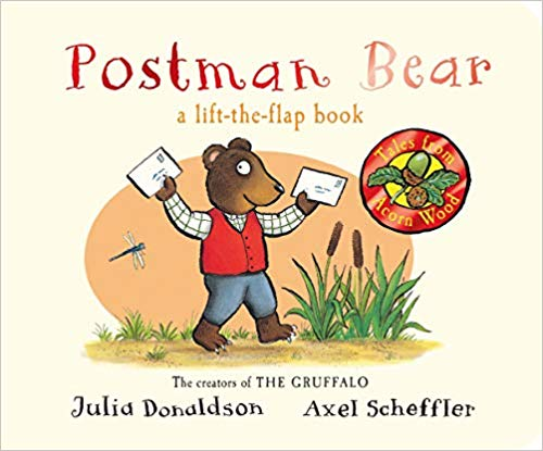 postman bear a-lift-the-flap-book