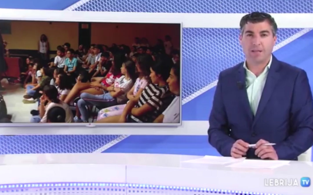 La gira escolar de Face 2 Face en TV