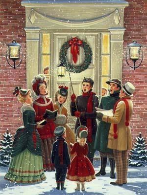 68f40e96e879d92a0d9351f68786841c--vintage-christmas-cards-christmas-carol