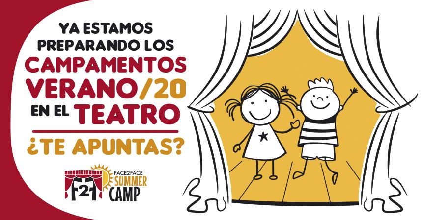 Ya estamos preparando el campamento de verano en inglés en el teatro
