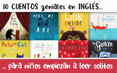 10 cuentos en ingles para niños de 5 a 8 años