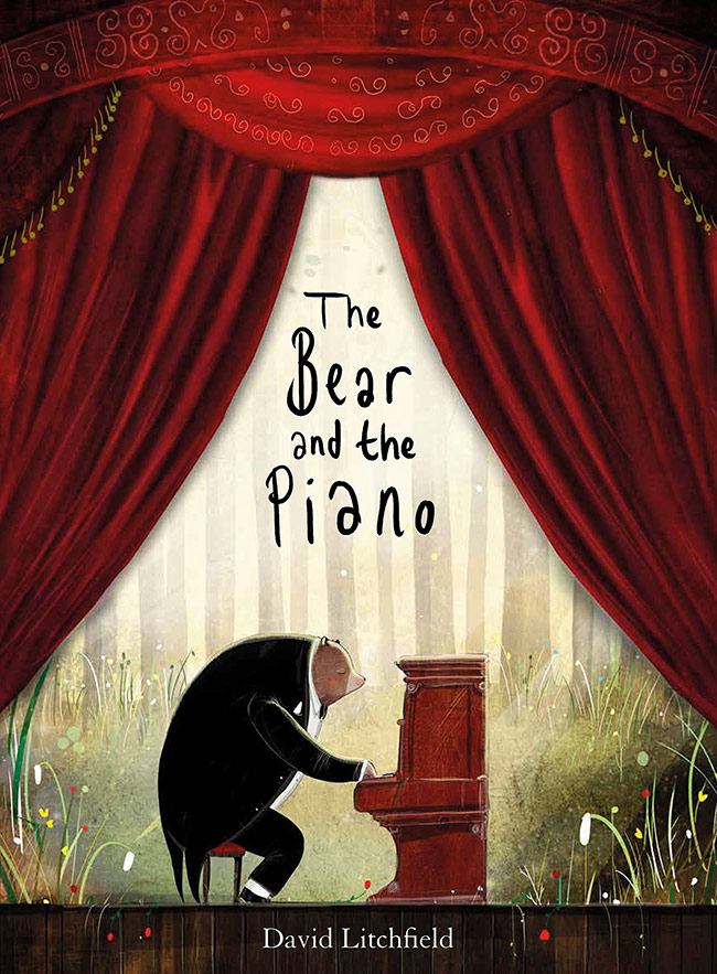 the bear and the piano, david litchfield