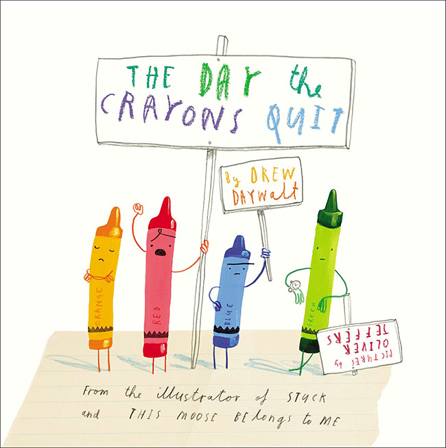 the day the crayons quit, drew daywalt