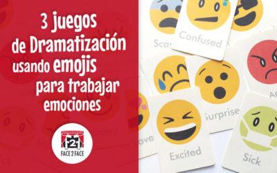 3 juegos de dramatización usando emojis para trabajar emociones en el aula
