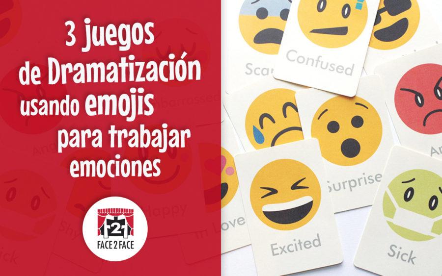juegos de dramatización con emojis