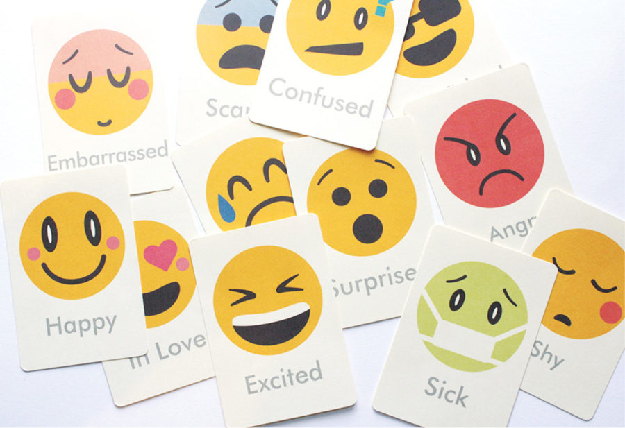 emoji flash cards