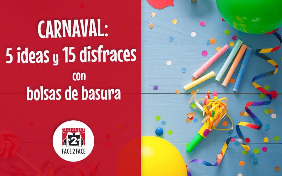 carnaval 15 disfraces con bolsas de basura