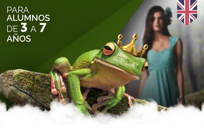 Obra de teatro para colegios The Frog Prince