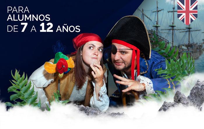 Obra de teatro para colegios Treasure Island