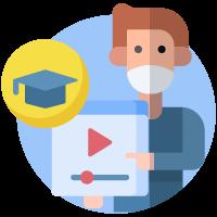 clases telemáticas colegios - COVID19