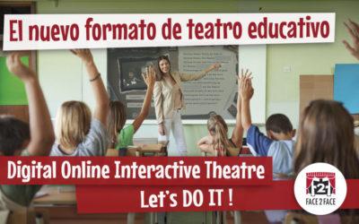 "Digital Online Interactive Theatre, Let's DO IT !La oferta de teatro en inglés ""online"""