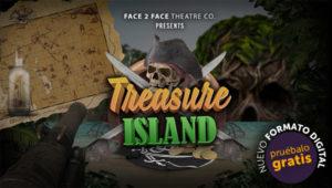 treasure island teatro online educativo