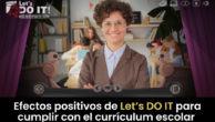 Efectos positivos de Let's DO IT para cumplir con el currículum escolar