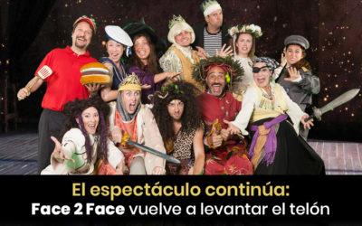 El espectáculo continúa:Face 2 Face vuelve a levantar el telón