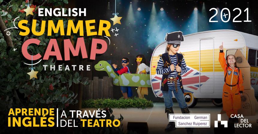 Summer Camp en Madrid de teatro en inglés