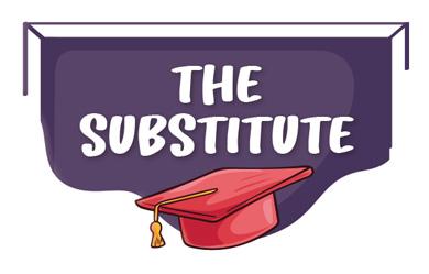 The Substitute - Teatro en inglés