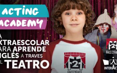 Inglés a través del teatro: arranca Acting Academy, actividades extraescolares desde Infantil hasta Secundaria